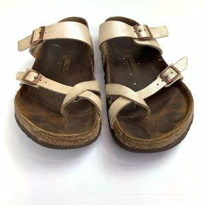 Birkenstock Shoes - Birkenstock Sandals Taupe Brown